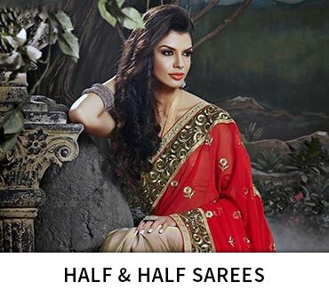 Half & Half Sarees