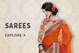 Avail Flat 60% Discount on Women's Sarees (Products include Festive, Designer, Wedding, Casual Sarees and more)