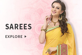 Get 60% discount on Sarees listed at landing page (Products include Festive, Designer, Wedding, Casual Sarees and more)