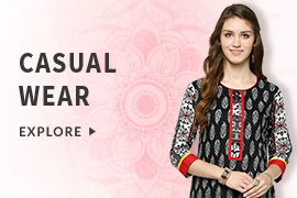 Avail Flat 70% OFF on Women's Apparels (Products include Salwar Suits and Ethnic wears)