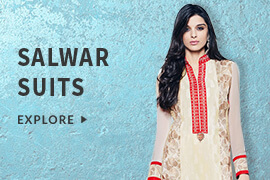 70% discount on Salwar Suits (Select from brands like Style By India, The Cotton Gallery, Royalvilla And More)