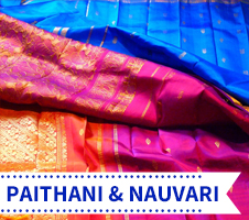 Paithani and Nauvari