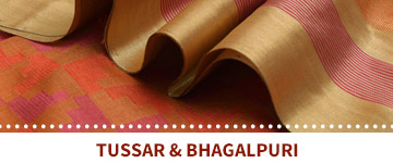 Tussar and Bhagalpuri