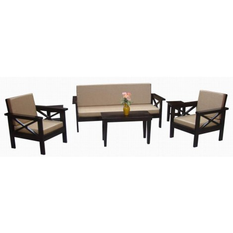 Climpex Wooden Sofa Set Online Shopping