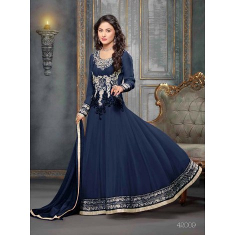 549055_Beautiful fancy Blue Color Embriodered Anarkali salwar suit-Clothing-styleofsurat