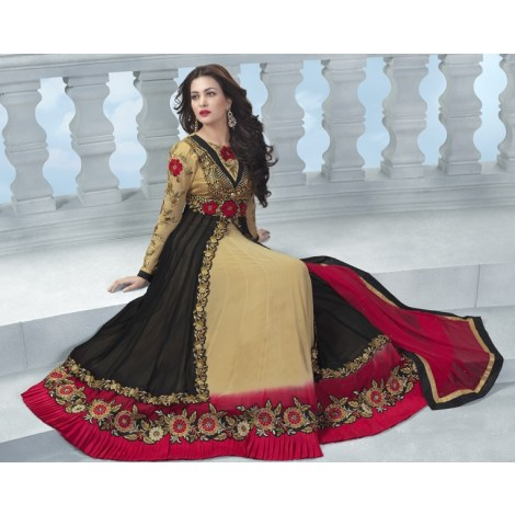 Captivating long length anarkali suits salwar suit by mia clothing