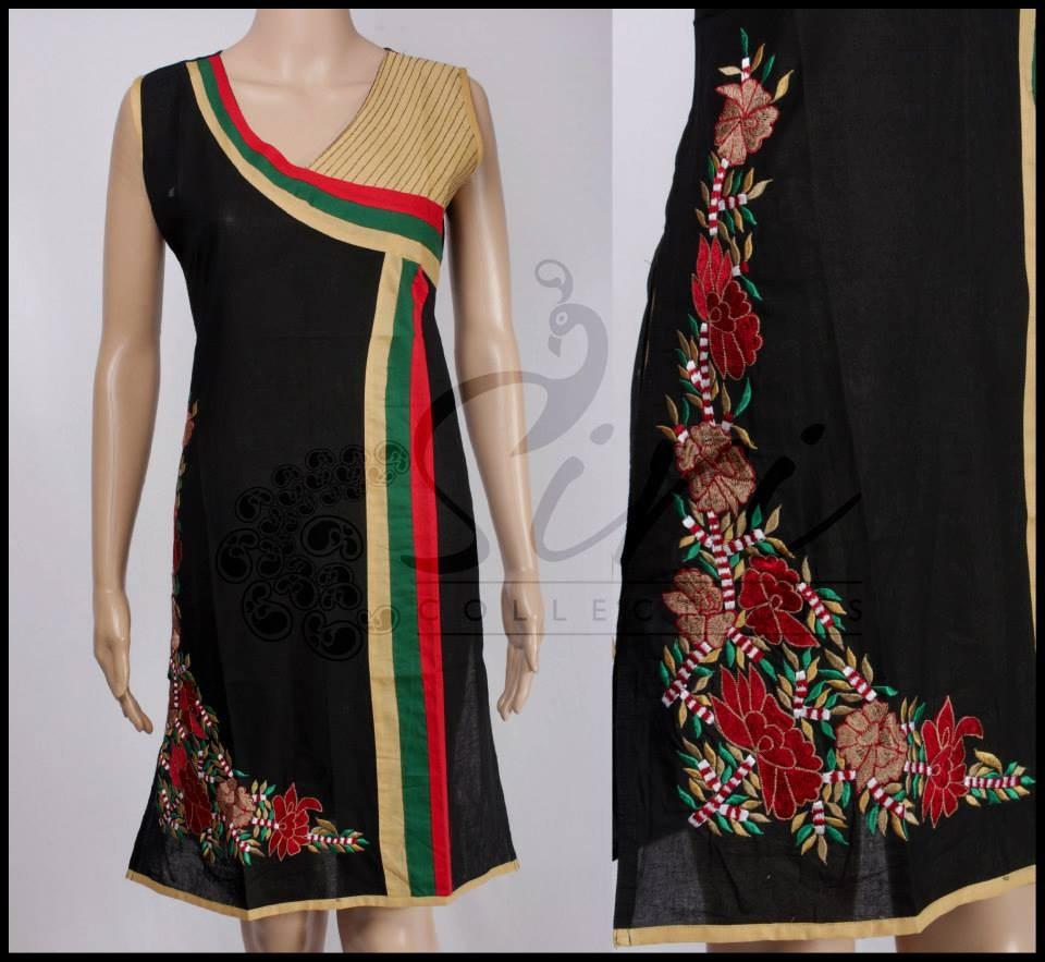 Designer Cotton Kurtis In Small Medium Large And Xl Sizes