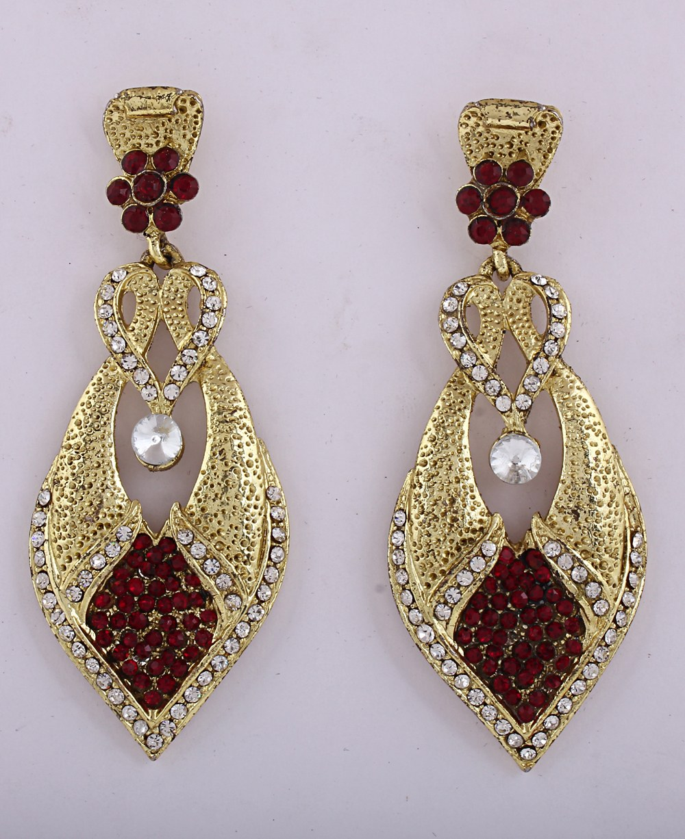 Gold Earrings For Women Indian Beautiful Yellow Gold