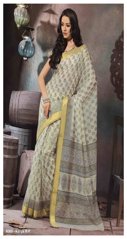 Cotton Tasar Silk Sarees