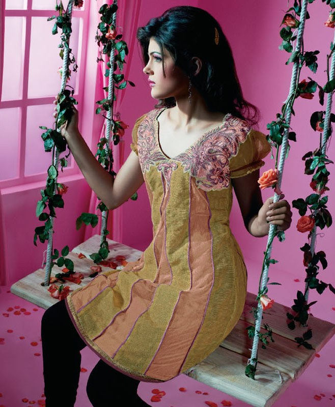 Indian Fashionable Kurties Online Shopping