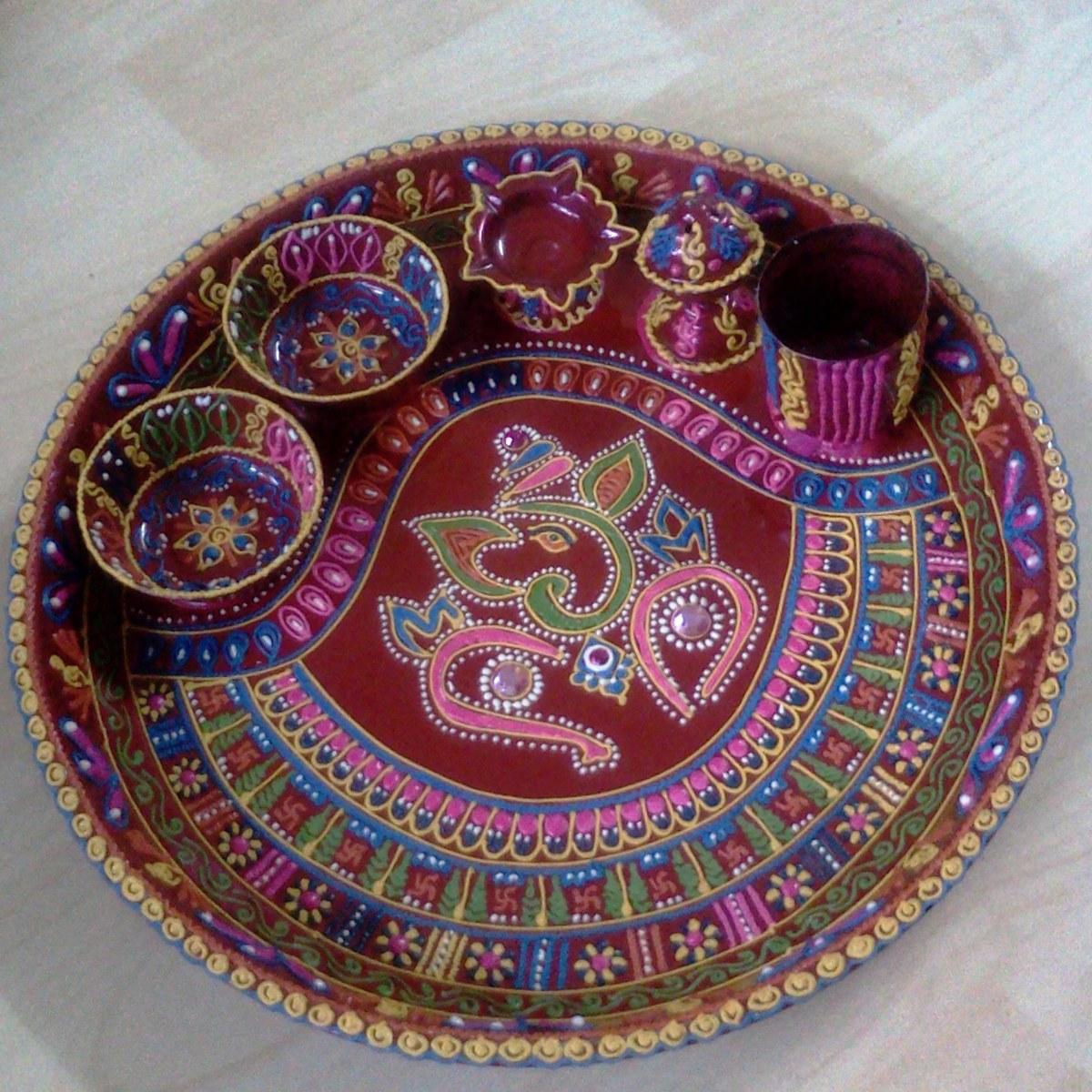 Pics photos aarti thali pooja puja
