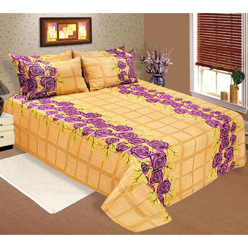 Yellow Rs Cotton Bedsheets Online Shopping