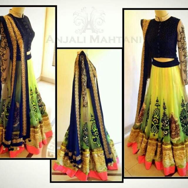 Wedding Lancha Images: Traditional Lehenga Indian Designer Party Ethinic Wear