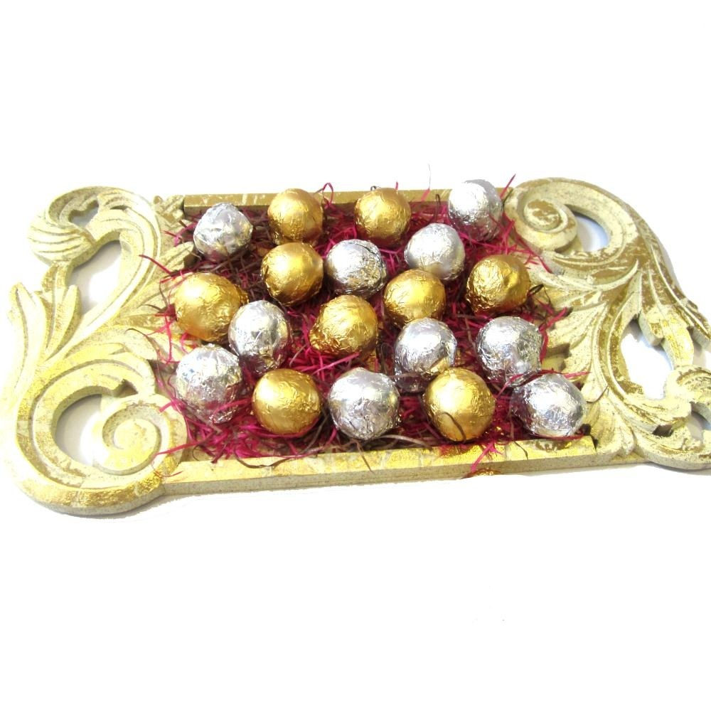 Handcarved chocolate tray homemade chocolates online