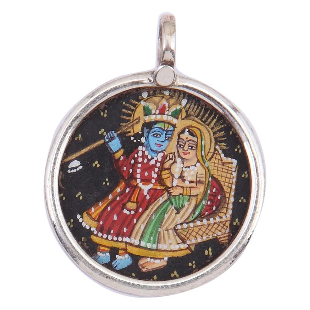 Krishna Radha Miniature Paintings Painting Radha Krishna For
