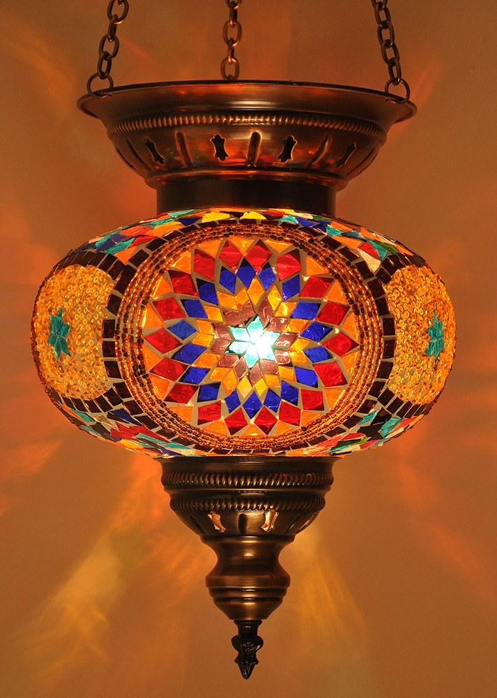 Turkish Moroccan Handmade Glass Mosaic Lamps Online Shopping