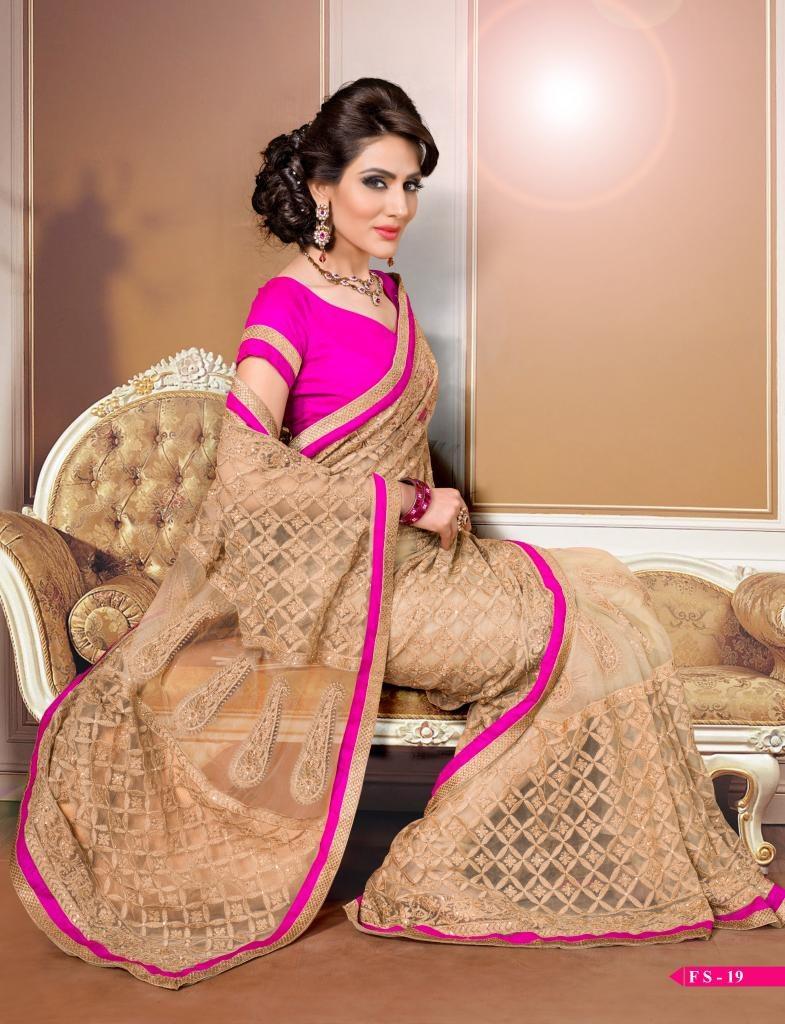 Thread Work Designer Saree