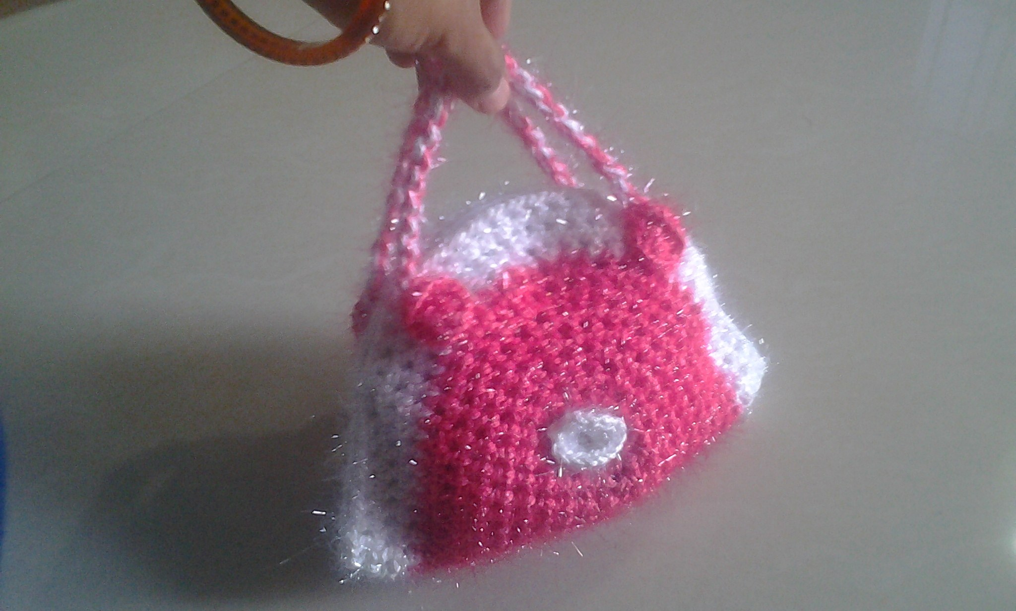 Batwa Purse Making : Crochet Hand Bag Small-Bags-Crochet Passion