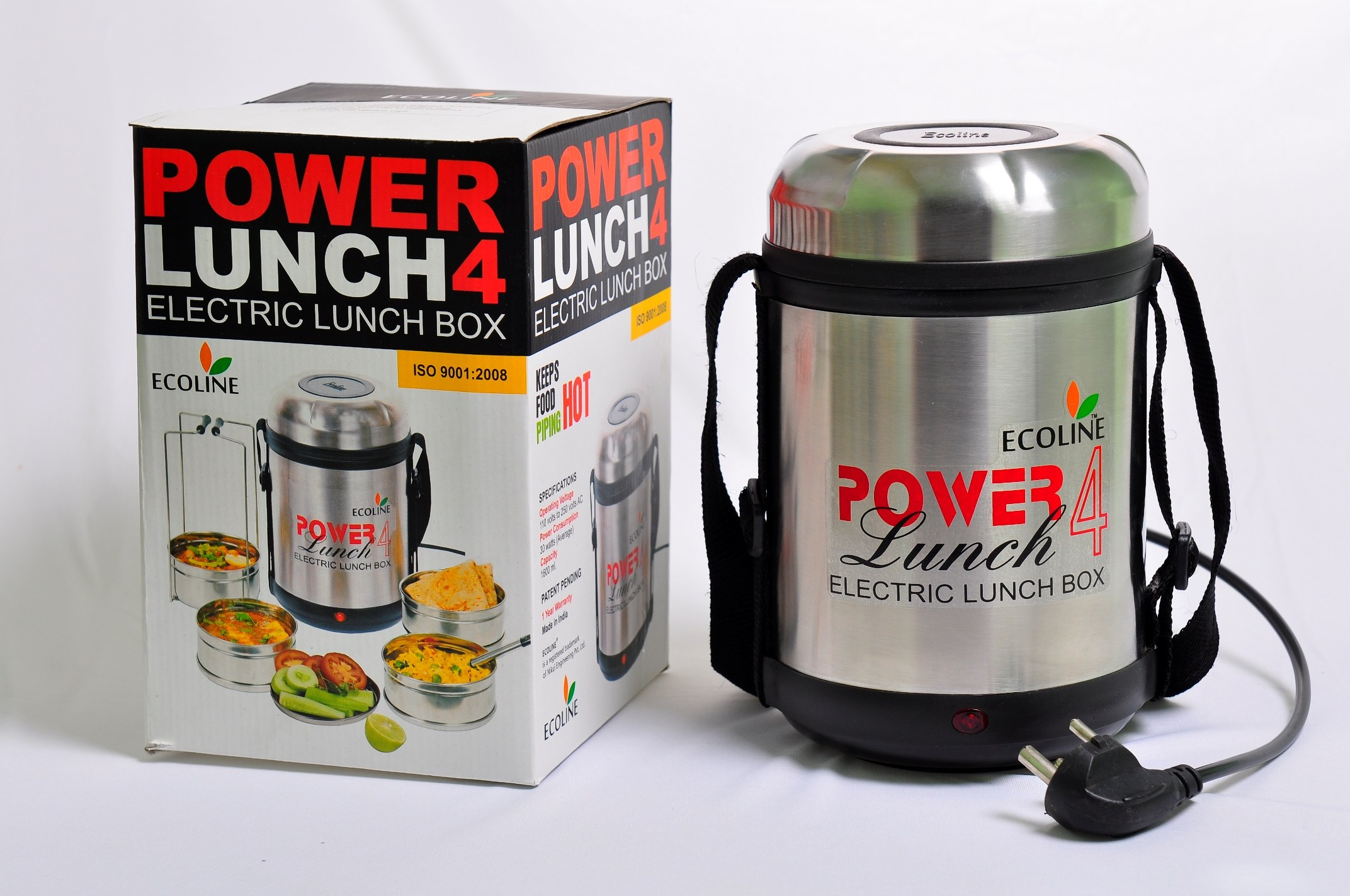 Lunch box electric ecoline power lunch 4 online shopping for Decor 6 piece lunchbox