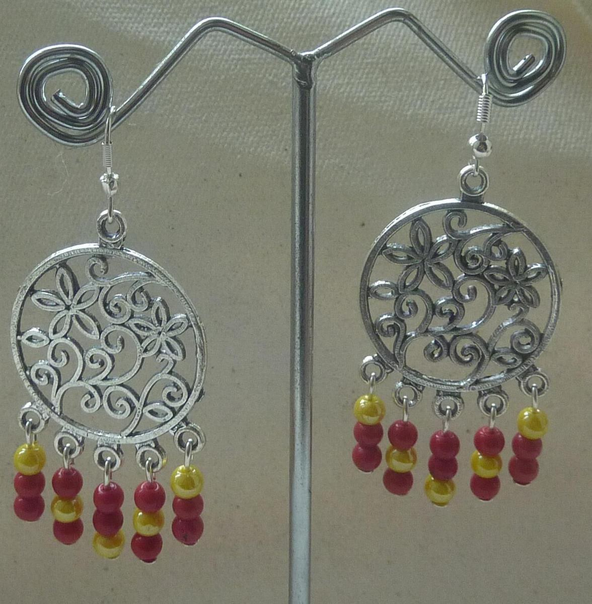 Yellow red chandelier online shopping for earrings by for Jewelry sale online shopping