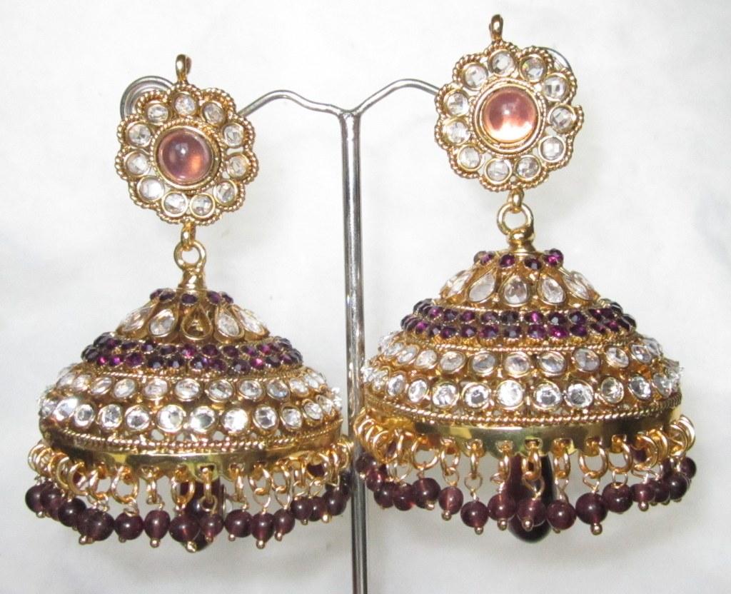 Ethnic earrings online shopping india
