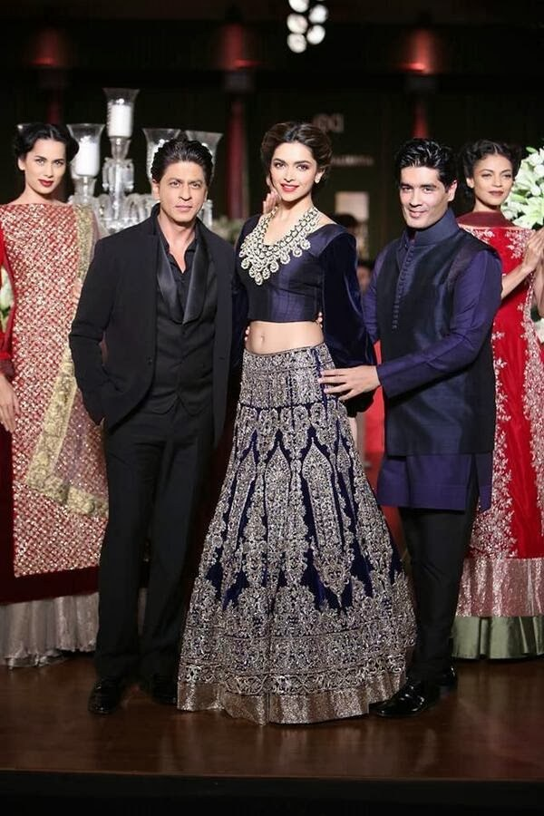 manish malhotra deepika padukone khan lehenga couture delhi rukh shah designer collection week pcj ramp bridal indian dresses bollywood shopping