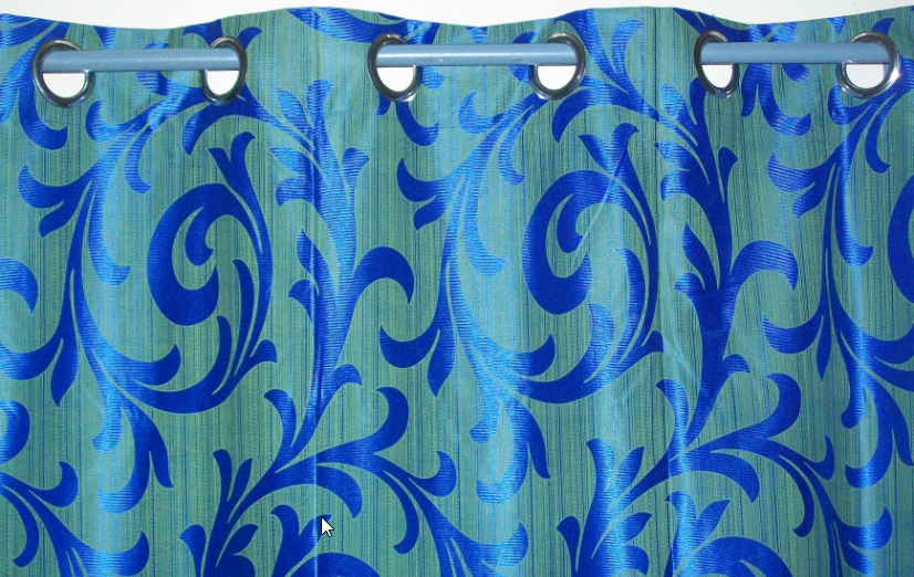 Window Curtain Windows Curtain Set Of 2 Nos Blue