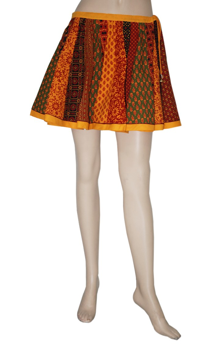 Online shopping of skirts