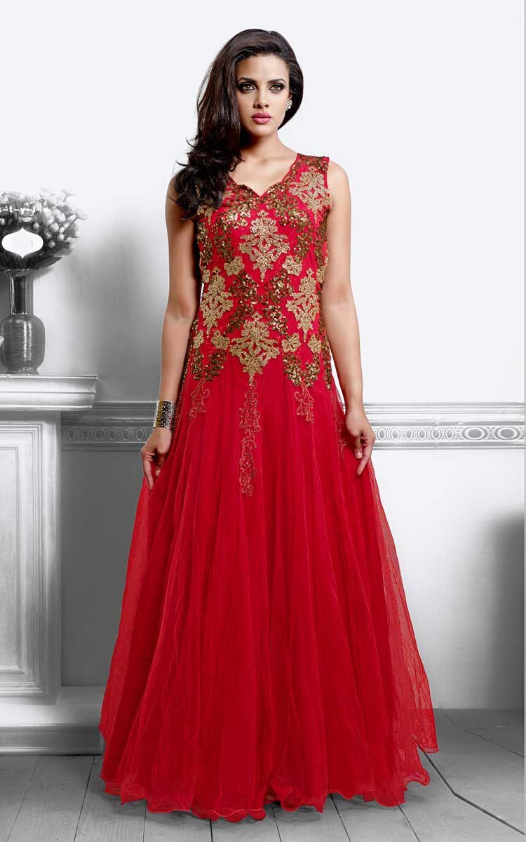 Party Wear Evening Gowns Online Shopping India - Discount ...