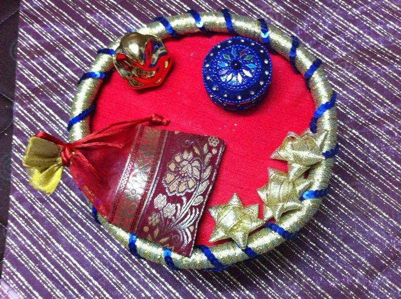 engagement ring platter available at craftsvilla for rs 1300