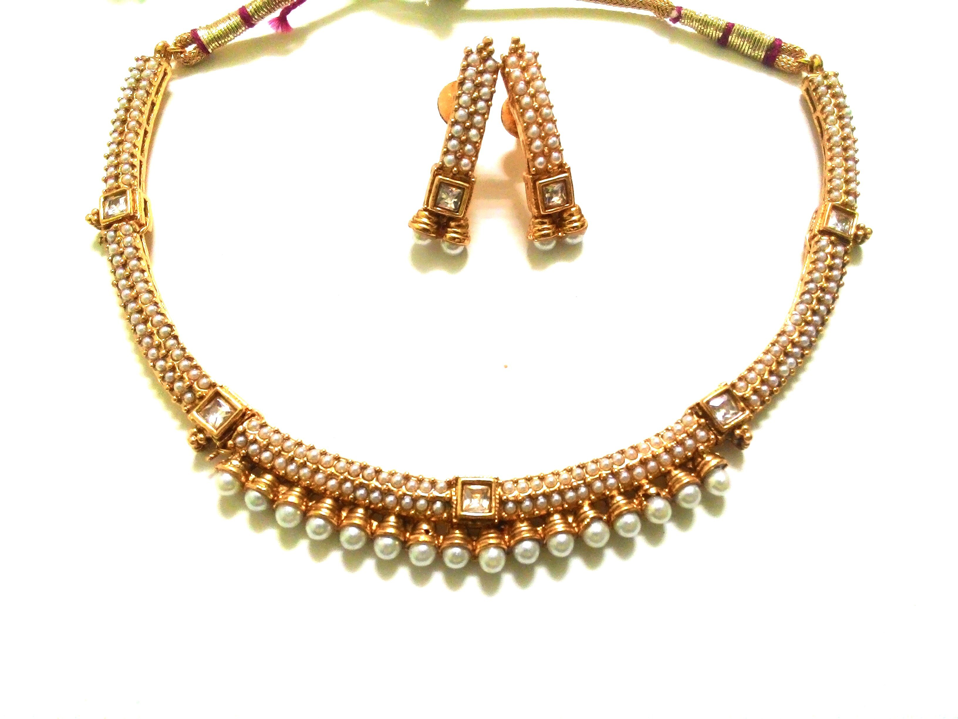 Gold plated wedding jewellery online shopping