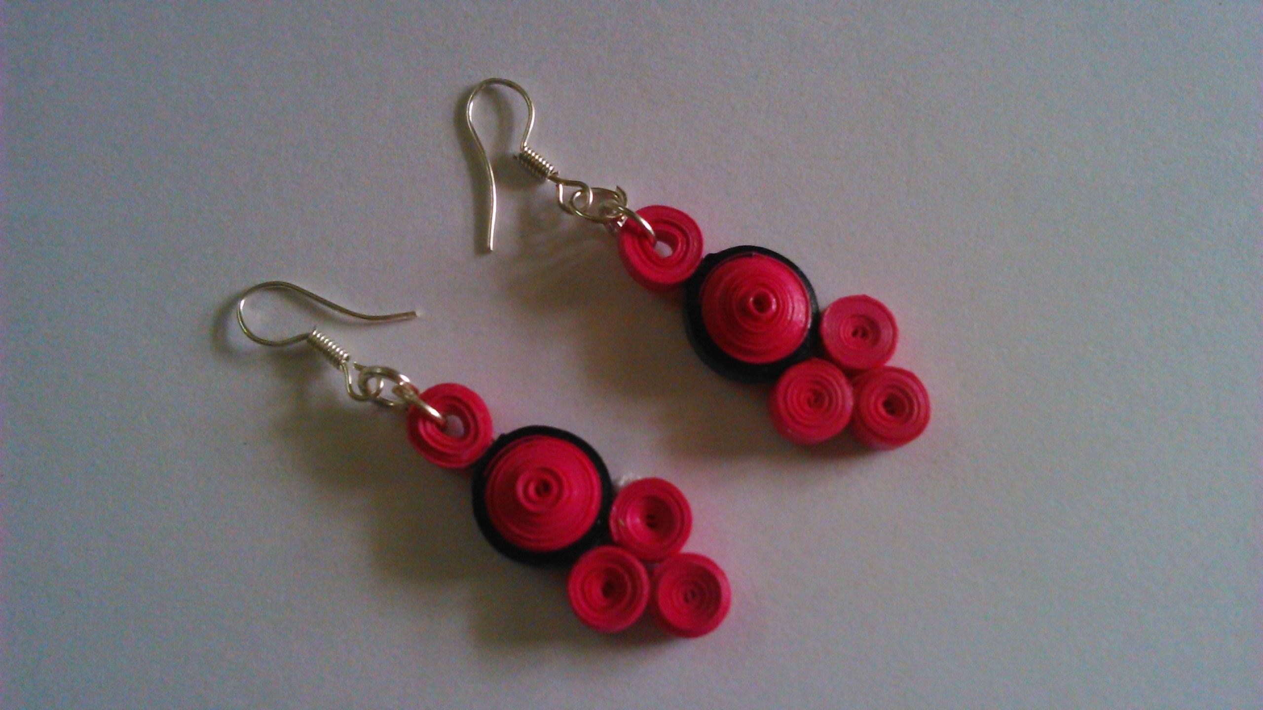paper earrings handmade paper jewellery tutorial - photo #39