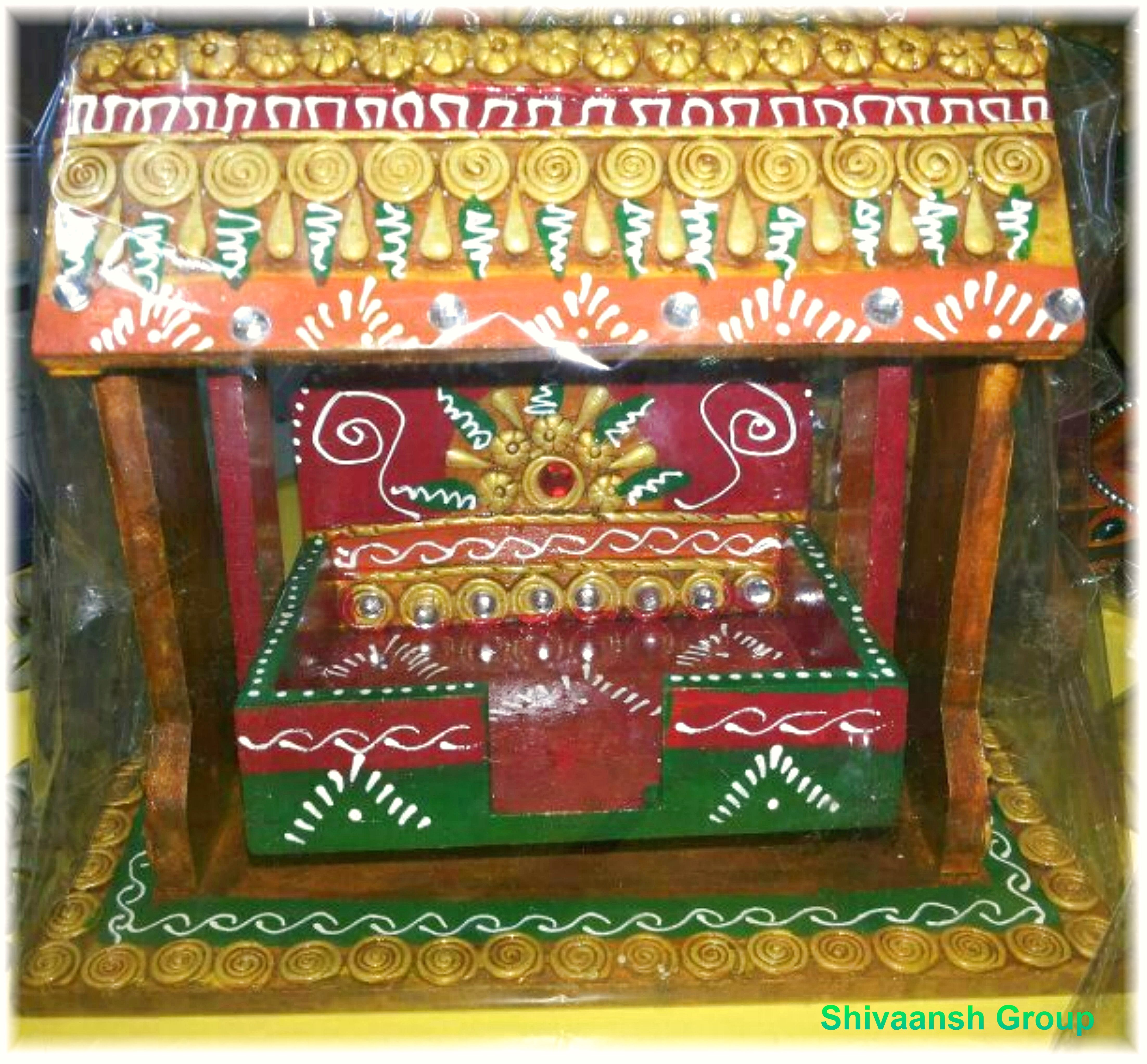 Handmade Wooden Jhula Online Shopping 1