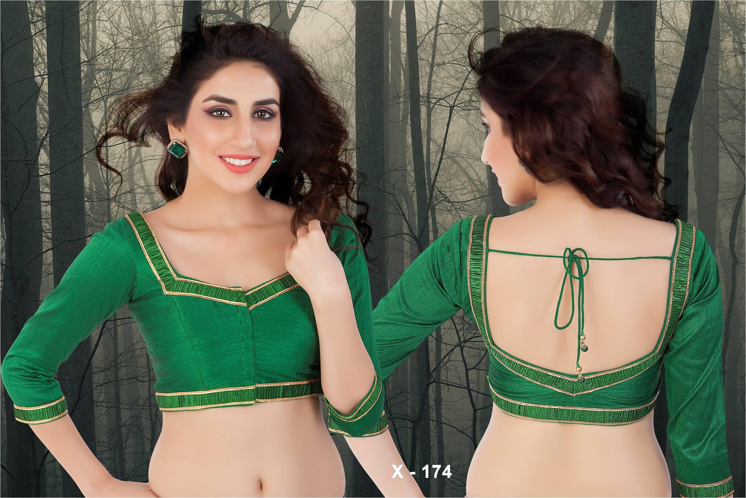 Silk Cotton Blouse Designs 105