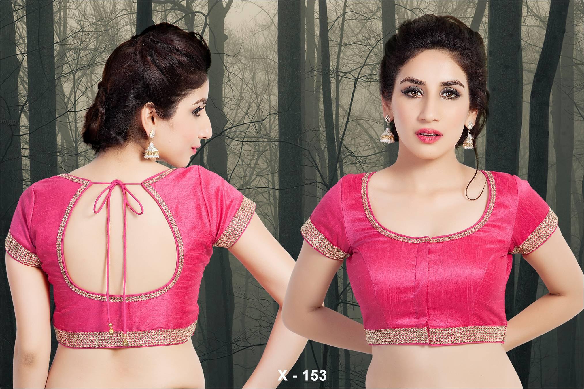 Silk Cotton Blouse Designs 70