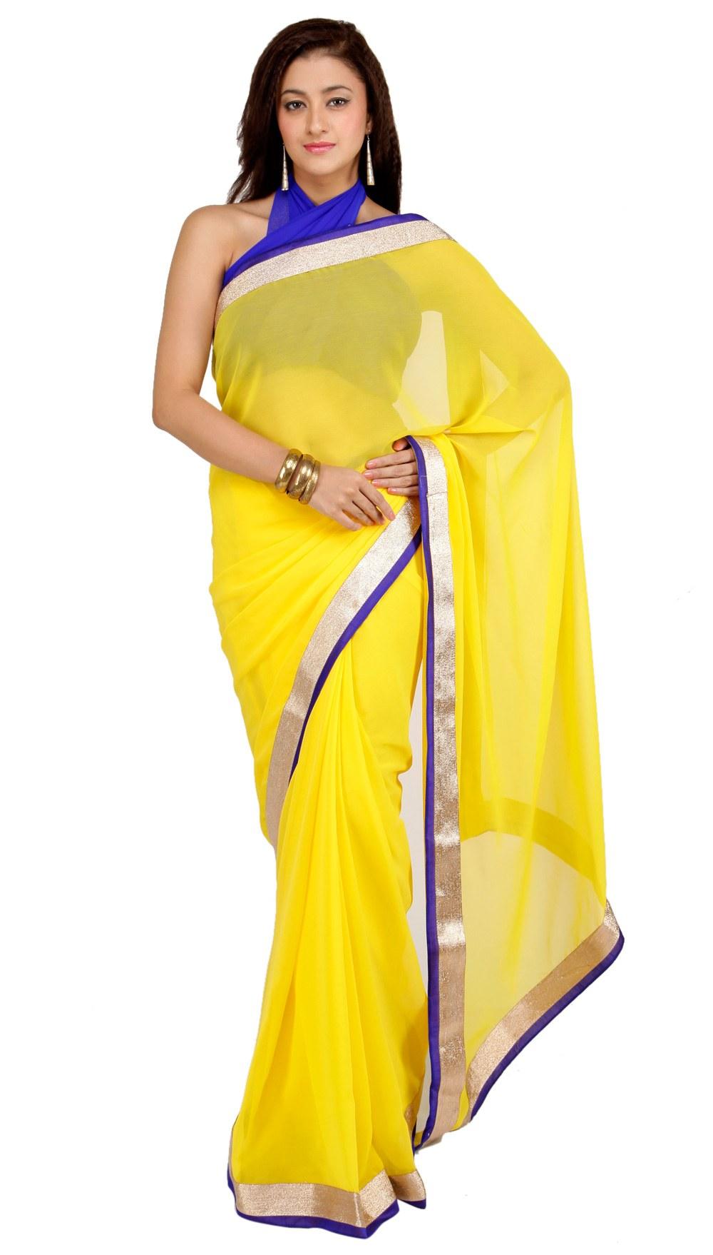 Designer border saree online shopping for designer for Luxury online shopping