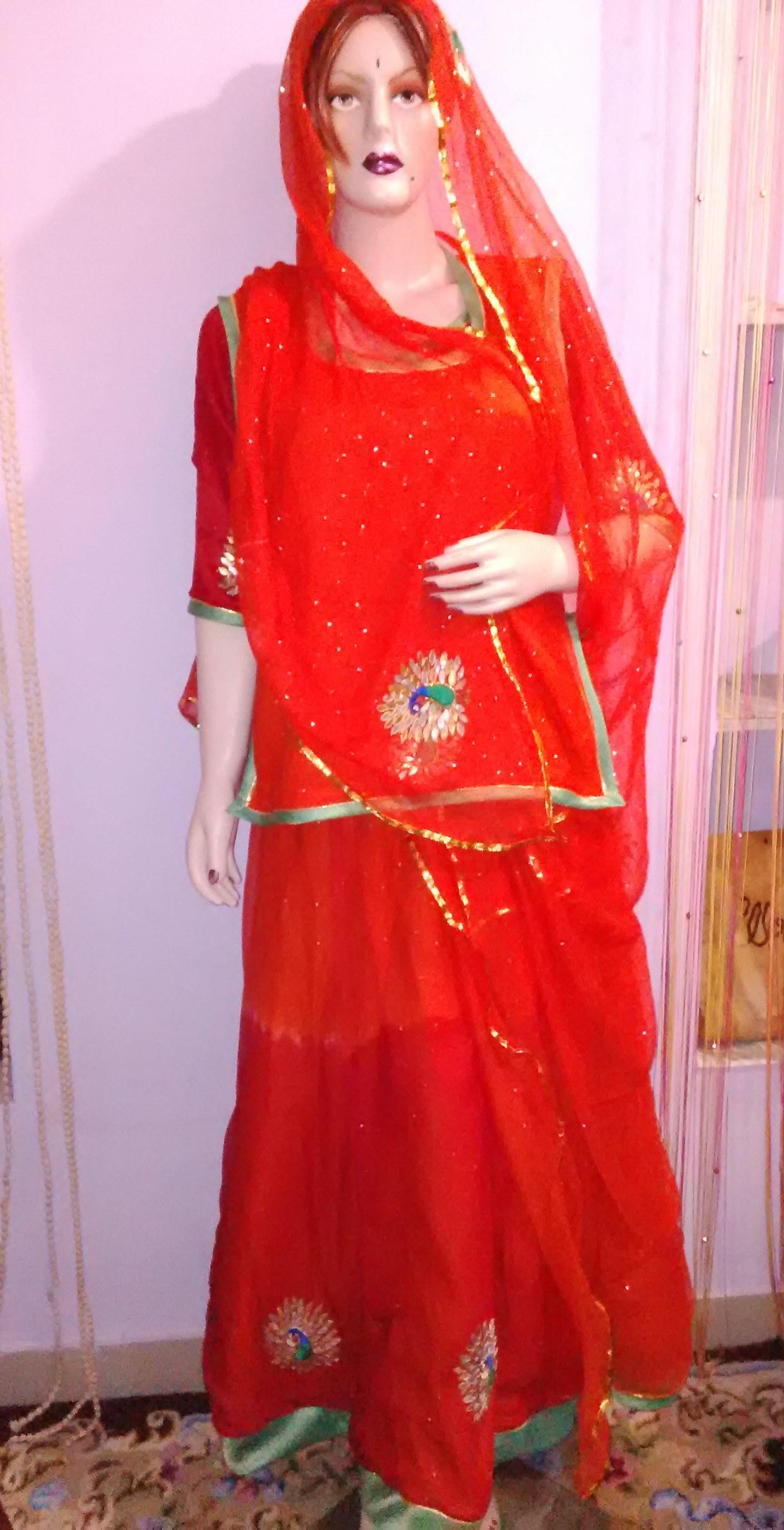 Designer Rajputi Poshak Available At Craftsvilla For Rs 6000