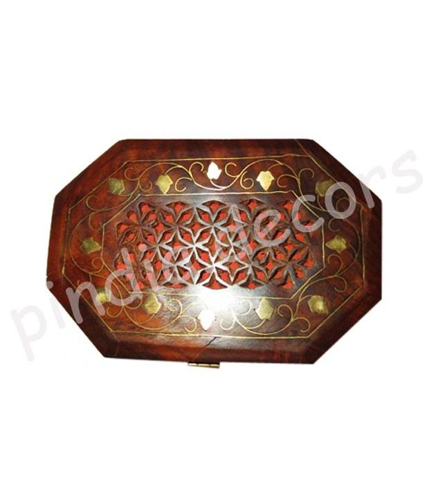 Jwellery Box Wooden Git Designer Showpiece Wedding Indian Art Designer Antique Online Shopping