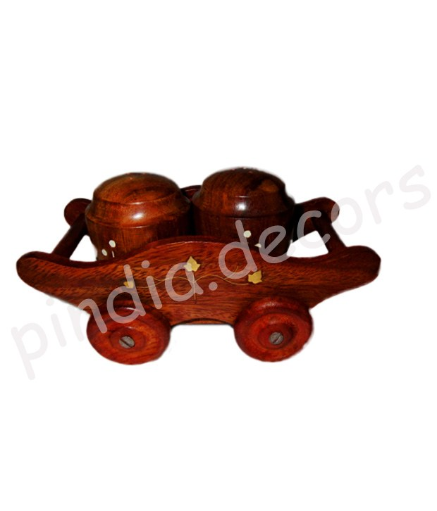 Trolley Salt And Pepper Kitchen Home Table New Gift Item Wooden Antique Celler Online