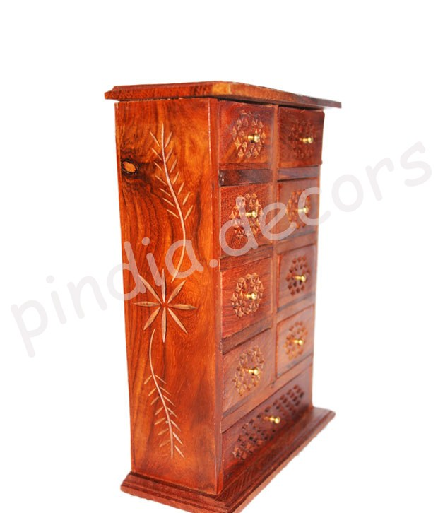 Cabinet Mini Wooden Chest Coin Jew Collection Door Home Decor Jwellery Furniture Online