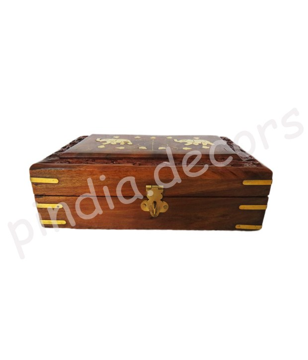 Jwellery Box Wooden Gift Designer Showpiece Wedding Indian Art Designer Antique Online