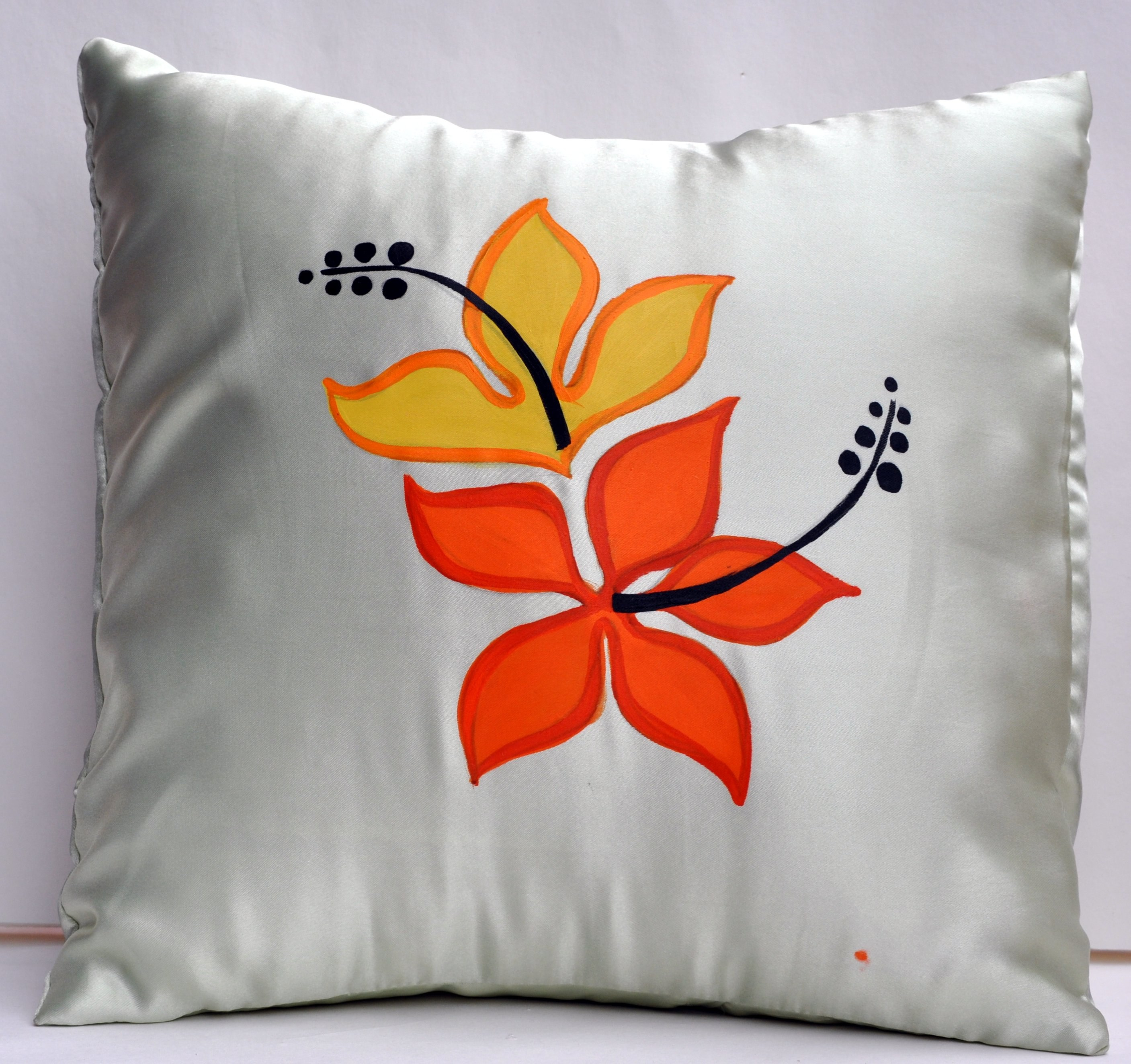 34  Great Fabric Painting Designs On Cushion for Fabric Painting Designs On Cushion Covers  35fsj