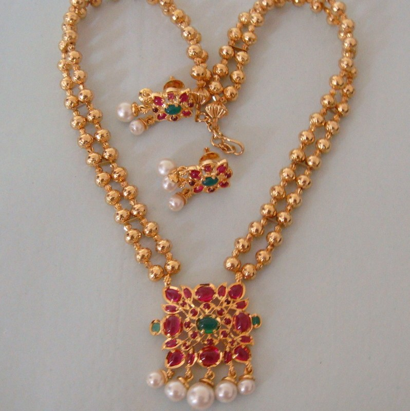 Best Latest Design Of Simple Gold Necklace Photos - Jewelry ...