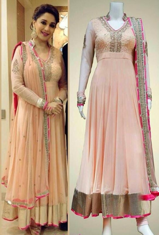 Madhuri dixit bollywood designer dress online shopping for Luxury clothing online
