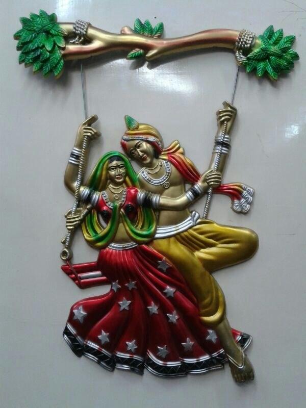 Radha Krishna Jhula Available At Craftsvilla For