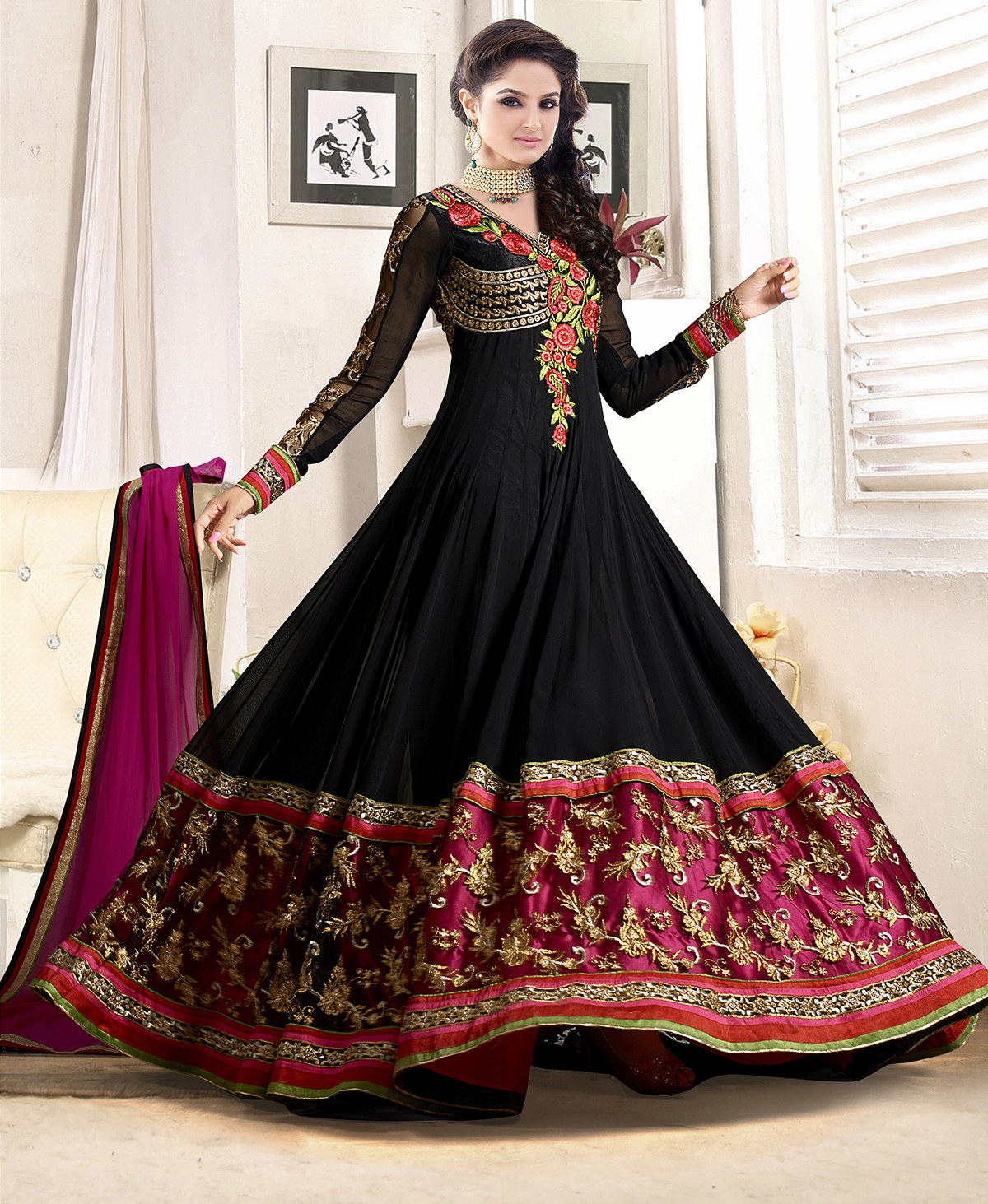 Designer Clothing Websites India New Designer Floor Length