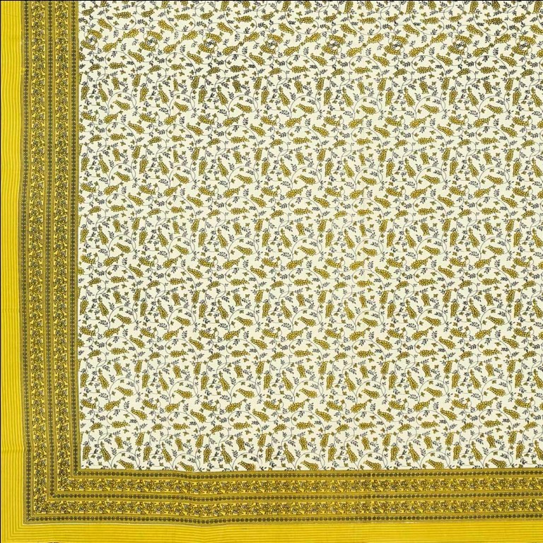 Original Rajasthani Mughal Pattern Single Bed Sheet Online