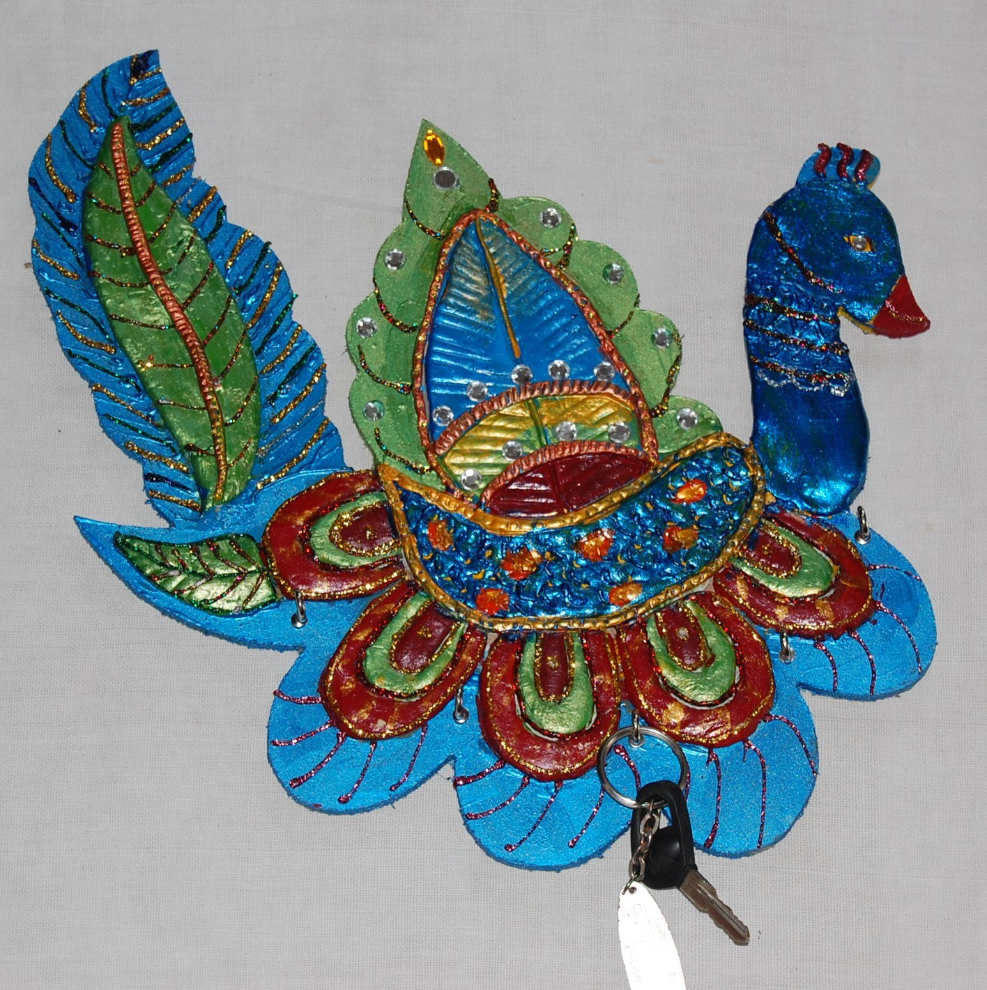 Peacock Key Holder Gift Item Amp Wall D 233 Cor Design