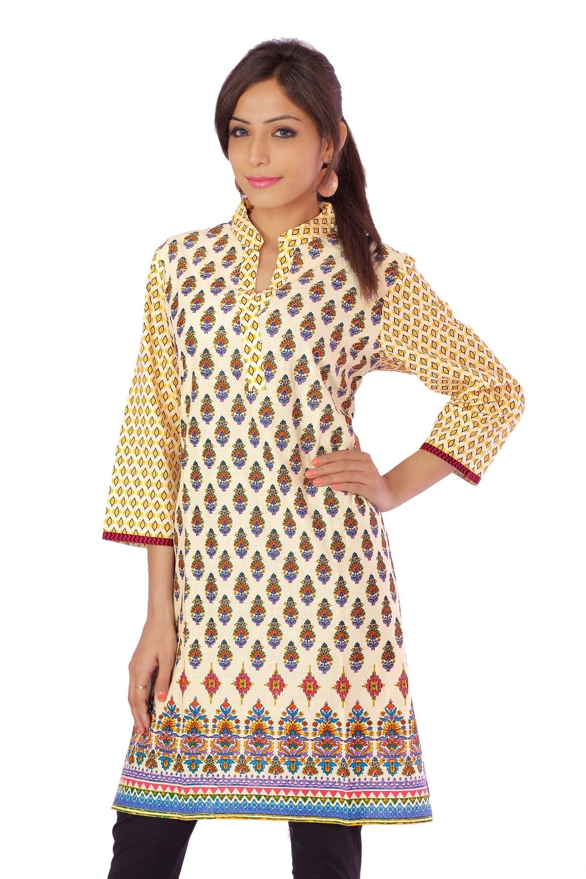 an ethnic pure handloom cotton regular wear kurti online. Black Bedroom Furniture Sets. Home Design Ideas