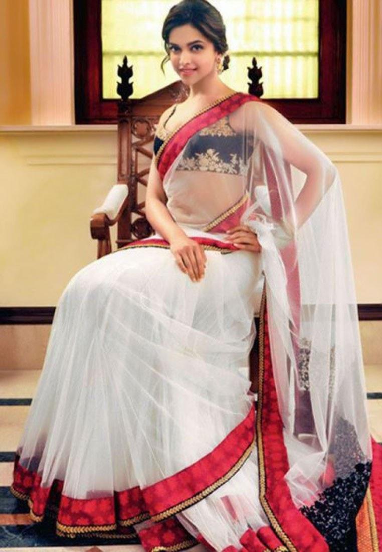 Deepika Padukone R&W Bollywood Replica Saree-Sarees-Style ...